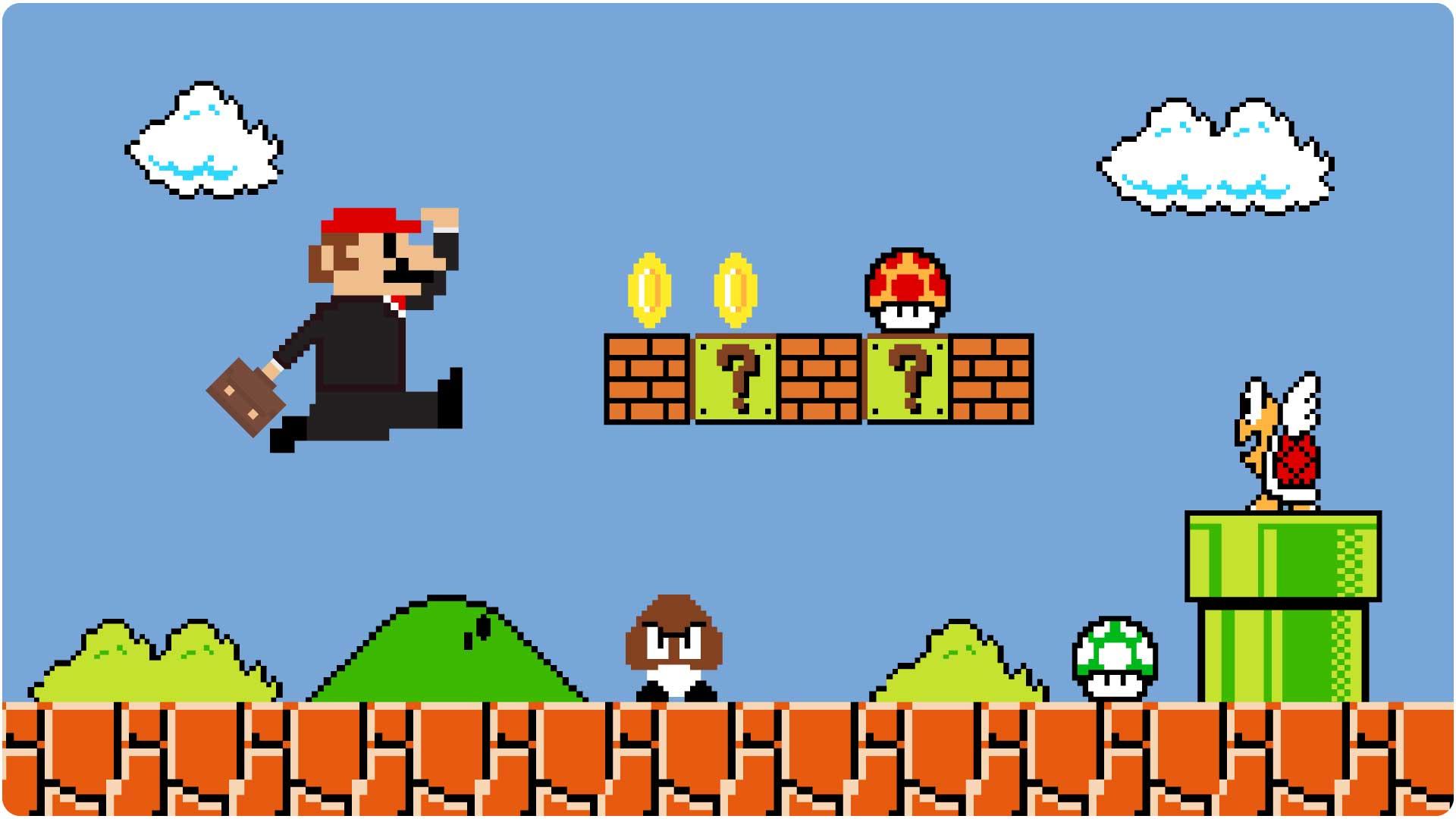 What Super Mario Bros teaches us about motivation
