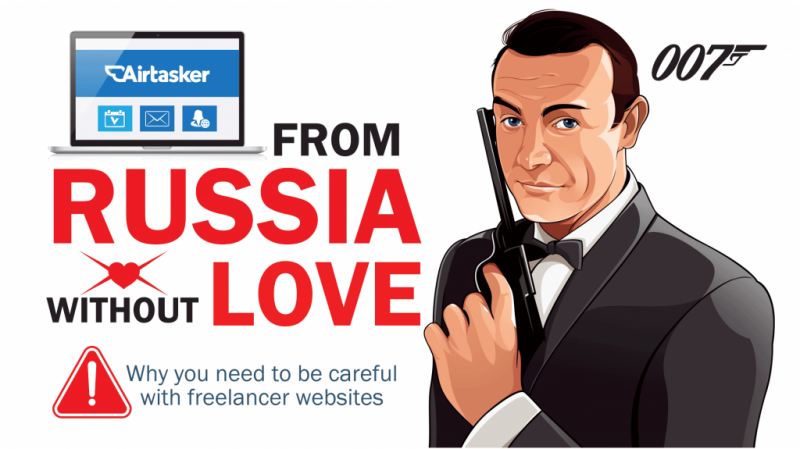To Russia without much love…why you need to be careful with freelancer websites